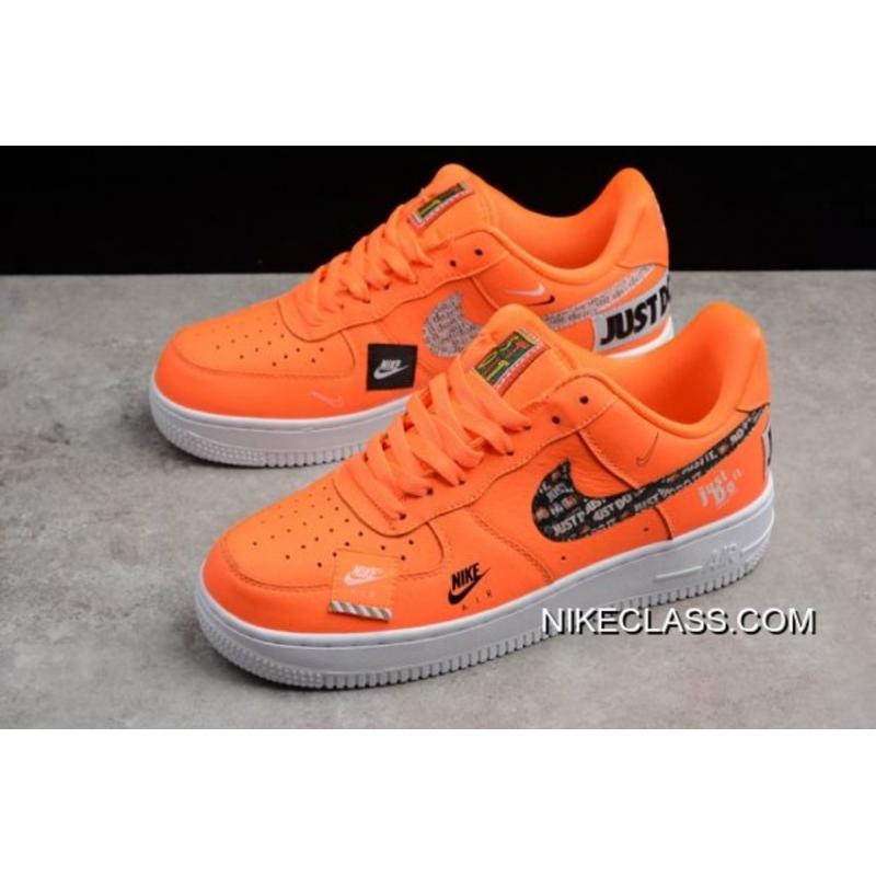 Envío Gratuito Nike Air Force 1 Low 'Just Do It' YellowWhite