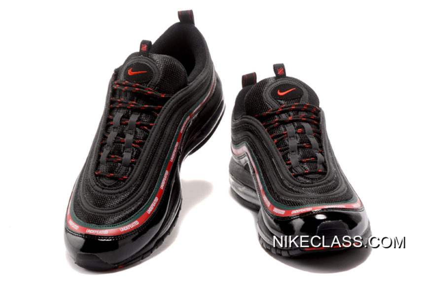 Envío Gratuito Undefeated X Nike Air Max 97 OG BlackGorge GreenWhite Speed Red